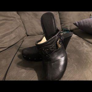 Michael Kors Clog Heels Black